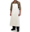 Picture of Apron -PVC White- Full Length -with cloth straps 90cm x 120cm-MSAF835900- (EA)