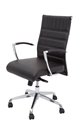 Picture of Executive Chair -Chrome arms with Outward Adjustment- Medium Back - Black-FURN358715- (EA)