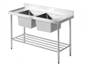 Picture of Double Sink Bench 1500mmw x 600d x 900h-FURN357950- (EA)