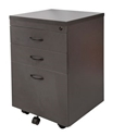 Picture of Mobile Pedestal -  3 Drawer to suit Standard Desks - IRONSTONE Colour-FURN358516- (EA)