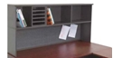 Picture of Desk Hutch Modular System Single Stack including Base - 870 H x 360 D x 2100 L - Ironstone Colour-FURN359315- (EA)