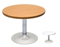 Picture of Chrome Base Round Coffee Table - 425mm High x 600mm Round Top-FURN360284- (EA)