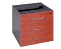Picture of Fixed 2 Drawer Pedestal (1 Box, 1 File) - Appletree / Ironstone Coloured - Managers Range -FURN360419- (EA)