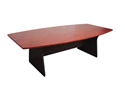 Picture of Boardroom Table 2400mm x 1200mm - Appletree / Ironstone Coloured - Managers Range-FURN360443- (EA)