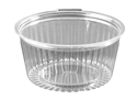 Picture of ***IL***Food/Show Bowl Clear Plastic 48oz Flat Lid 1364ml apprx-HCON149252- (SLV-25)