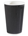 Picture of 16oz Black Ripple Cup-HCUP109950- (CTN-500)
