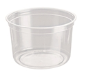 Picture of Clear Round P.E.T. Deli Container 473ml 16oz-PCON144520- (CTN-500)