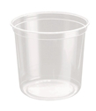 Picture of Clear Round P.E.T. Deli Container 710ml 24oz-PCON144530- (CTN-500)