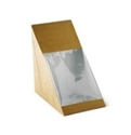 Picture of Sandwich Wedge Flat fold Window Cardboard-SNAK153500- (CTN-200)