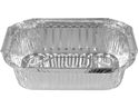 Picture of #442 Rectangular Foil Container (Medium) 202x138x46mm -FCON135598- (SLV-100)