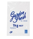 "Picture of 1kg ""Garden Fresh"" Printed Bag LDPE Vented 330x205-MISB009350- (CTN-1000)"