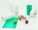 Picture of Roll Bags Gusset 450x250+100 Produce (freezer bag style) - Green-PROB015960- (CTN-6 ROLL)