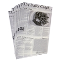 "Picture of Newsprint ""Seafood Print"" 203mm x 305mm-WRAP076220- (REAM-500)"