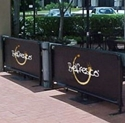 Picture of Belfresco Coffee Wind Break Barrier  - 2 Metre-COFA234795- (EA)