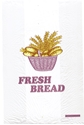 "Picture of Bread Bag Printed ""Fresh Bread""  455 x 180 + 100 (Picture with Basket)-BREB010600- (SLV-500)"