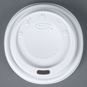 Picture of Cappa Lid to suit 8oz Dart Foam Cup-FLID123550- (SLV-100)