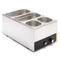 Picture of Bain Marie - 1/1 Size with Pans,  stainless steel benchtop model, 245(H) x 340(W) x 580(D)mm-EQUI238920- (EA)
