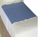 """Picture of Incontinence Aids - """"Kylie"""" Buddies Deluxe Bed Pad Blue Tuck in-INCO808000- (EA)"""