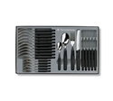 Picture of Victorinox Cutlery Set Giftbox - Black-CUTL221710- (SET-24)