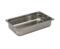 Picture of Stainless Steel Bain Marie Steam Insert Pan 1/1 size 65mm deep - 530mm x 325mm-SSTL225155- (EA)