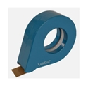 Picture of Tape Dispenser Tear Drop  Plastic 38mm wide  - Light Blue-INDU664100- (EA)