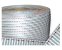Picture of Poly Woven Strapping 19mm wide x 500m -2 Red Lines - 1100kg Break Strain-STRP693705- (EA)