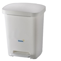 Picture of 30lt Plastic White Pedal Bin-BINS386206- (EA)