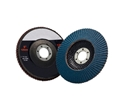 Picture of Flap Disks  100mm (4in) x 16mm  60grit  -DISK763255- (EA)