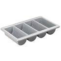 Picture of Cutlery Tray - Four Compartments - 530mm (W) x 325mm (D) x 100mm (H) - Stackable-MISC234700- (EA)