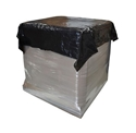 Picture of Pallet Caps / Top Sheets BLACK Plastic 840/1680x1680mm -MPAC617930- (ROLL)