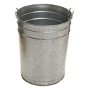 Picture of Metal Garbage Bin 55 Litre - Galvanised Finish Strong and Durable-BINS386345- (EA)