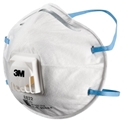 Picture of 3M 8822 P2 Dome Respirator with Valve - Premium -RESP820610- (BOX-10)