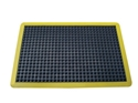Picture of Air Step Anti-Fatigue Matting with Yellow Edges - 900mm x 1200mm-MATT359988- (EA)