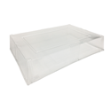 Picture of Clear Lid to Suit 447mm x 308mm x 82mm Catering Tray (Tray and Collar Sold Seperate)-TRAY165527- (CTN-50)