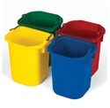 Picture of Disinfection Pails 4.8L - Set of Four Colours: Yellow, Green, Blue, Red-BUCK370090- (EA)