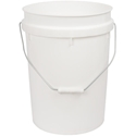 Picture of Plastic Bucket / Pail 20L With Handle (no Lid) - Dangerous Goods Approved-BUCK369724- (EA)