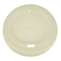 Picture of  Biodegradable Coffee Cup Lid Suits 8/12/16oz Envirochoice Single & Double Wall & Gallery Series Cup-BIOD076290- (SLV-100)