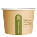 Picture of Enviro Heavyboard Round Hot Food / Soup Container 16oz-BIOD080710- (CTN-500)
