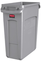 Picture of Slim Jim 60lt Waste Container - Gray-BINS386258- (EA)