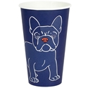 Picture of 16oz Biodegradable Single Wall Coffee Cup - Gallery Series (Mixed Print Selection)-BIOD076234- (CTN-1000)