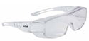 Picture of Premium Bolle Safety Glasses- OVER SPECTACLES- Visitors Clear Lens - Overlight II-EYES825240- (PR)