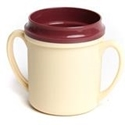 Picture of Insulated Double Handle PP Mug 250ml - Yellow-POLY226820- (EA)