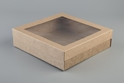 Picture of BetaCater Kraft Catering Box Small - 225x252x60mm (lid Sold Seperately)-TRAY165569- (CTN-100)