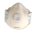 Picture of P2 Standard Dome Disposable Respirators with Valve Moulded-RESP820410- (CTN-120)