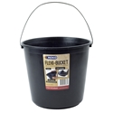 Picture of Bucket General Purpose 10lt With Metal Handle - BLACK-BUCK369902- (EA)