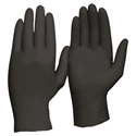 Picture of Black Heavy Duty Nitrile Gloves, Powder Free -GLOV477265- (BOX-100)