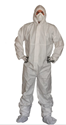 Picture of Coveralls - White Microporous Water Resistant type 5 & 6-CLTH832105- (CTN-25)