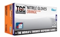 Picture of Gloves Nitrile High Visability - Orange-GLOV477200- (BOX-100)