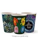 Picture of 12oz Biodegradable Double Wall Coffee Cup - Biopak Art Series (Mixed Print Selection)-BIOD076252- (SLV-40)