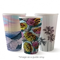 Picture of 16oz Biodegradable Double Wall Coffee Cup - Biopak Art Series (Mixed Print Selection)-BIOD076255- (SLV-40)